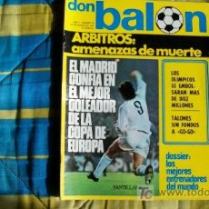 Coleccionismo deportivo: DON BALON-Nº26-1976-64PAG-SANTILLANA. Lote 18792067