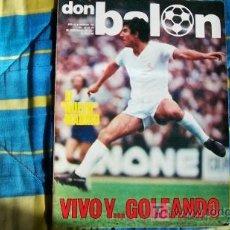 Coleccionismo deportivo: DON BALON-Nº102-1977-64PAG-EL NUEVO MADRID. Lote 18792175