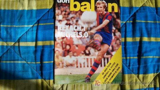 DON BALON-Nº88-1977-64PAG-REXACH (Coleccionismo Deportivo - Revistas y Periódicos - Don Balón)