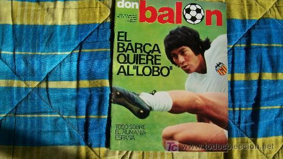 DON BALON-Nº80-1977-64PAG-EL BARCA QUIERE AL LOBO (Coleccionismo Deportivo - Revistas y Periódicos - Don Balón)