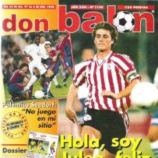 Coleccionismo deportivo: DON BALON Nº 1159 ** JULEN GUERRERO / ESPECIAL 80 PAGINAS **. Lote 19076884