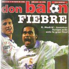 Coleccionismo deportivo: DON BALON Nº 1178 ** MENDIETA / KARPIN / SACCHI / SUKER **. Lote 19077069