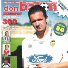 Coleccionismo deportivo: DON BALON Nº 1062 MIJATOVIC / ESPECIAL 80 PAG *. Lote 19077277