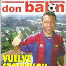 Coleccionismo deportivo: DON BALON Nº 1084 STOICHKOV / RAUL JASP DE AÑO / ROMARIO / SUKER. Lote 19087428