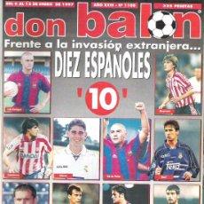 Coleccionismo deportivo: DON BALON Nº 1108 LUIS ENRIQUE / KAREMBEU **. Lote 19087561