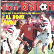 Coleccionismo deportivo: DON BALON Nº 1079 ALFONSO / BERGKAM / DUGARRRY / BLANC **. Lote 19112781