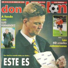 Coleccionismo deportivo: DON BALON Nº 1162 ** SALAMANCA POSTER / WORLD PLAYER 97 / VALERON / 40 CRACKS SUDAMERICANOS ** BUENO. Lote 19114002
