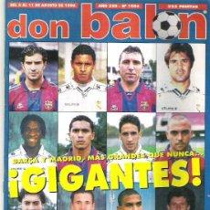 Coleccionismo deportivo: DON BALON Nº 1086 BOBBY ROBSON / ATLETICO CAMPEON / ARANZABAL / SHEARER **. Lote 19114561