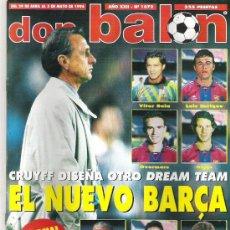 Coleccionismo deportivo: DON BALON Nº 1072 NUEVO DREAM TEAM LUIS ENRIQUE / GIGGS / OVERMARS / CAMACHO *. Lote 19114648