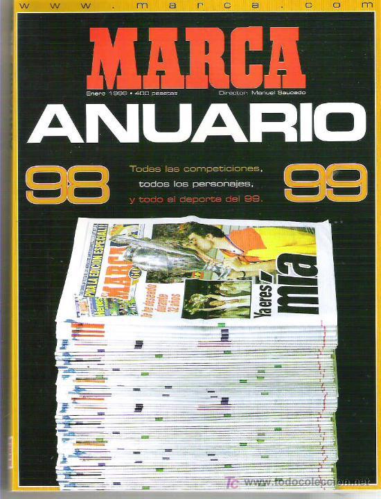 MARCA ANUARIO 98 99 ** MUY (Coleccionismo Deportivo - Revistas y Periódicos - Marca)