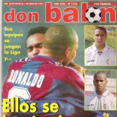 Coleccionismo deportivo: DON BALON Nº 1128 ESPECIAL 80 PAG ** LUIZAO / FERNANDO / ZAGALLO / CANTONA **. Lote 19153057