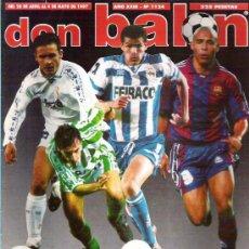 Coleccionismo deportivo: DON BALON Nº 1124 CAMINERO POSTER / MIJATOVIC A FONDO /LOS GUAPOS DEL FUTBOL ESPAÑOL **. Lote 19153091