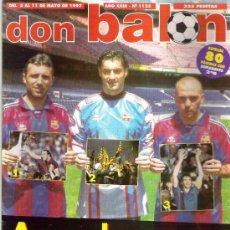 Coleccionismo deportivo: DON BALON Nº 1125 ZARRA / PANUCCI / MORIENTES EN POSTER ESPECIAL 80 PAG** BUEN ESTADO. Lote 19153110