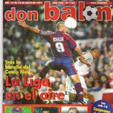 Coleccionismo deportivo: DON BALON Nº 1126 KIKO POSTER / LOS NEVOS CRACKS / POPESCU *. Lote 19153128
