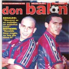 Coleccionismo deportivo: DON BALN Nº 1091 ** RONALDO/ GIOVANI / ROBAINA / RUBEN SOSA **. Lote 27026081