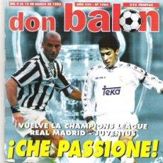 Coleccionismo deportivo: DON BALON Nº 1064 ** ESPECIAL 80 PAG * ALBACETE POSTER / PANTIC / SERGI. Lote 19229494