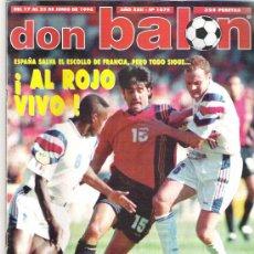 Coleccionismo deportivo: DON BALN Nº 1079 ALFONSO / BERKAMP / DUGARRY / BLANC **. Lote 19229648