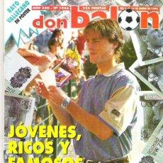 Coleccionismo deportivo: DON BALON Nº 1056 POSTER RAYO VALLECANO / AMOR / NUEVOS CRACKS **. Lote 19229703