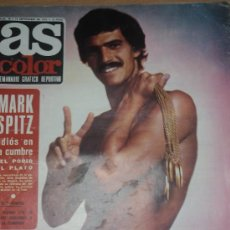 Coleccionismo deportivo: AS COLOR NUM 70 SEPT 1972 - MARK SPITZ / ANGEL NIETO / MUNICH 72. Lote 19615760