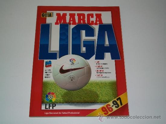 REVISTA MARCA - GUÍA DE LA LIGA DE FUTBOL 96 / 97 - ANUARIO - EXTRA (Coleccionismo Deportivo - Revistas y Periódicos - Marca)