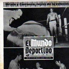 Coleccionismo deportivo: EL MUNDO DEPORTIVO 17-01-70 URTAIN CARRASCO . Lote 19990744