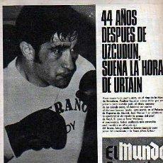 Coleccionismo deportivo: EL MUNDO DEPORTIVO 03-04-70 URTAIN. Lote 19990815