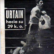 Coleccionismo deportivo: EL MUNDO DEPORTIVO 01-5-70 URTAIN. Lote 19990991