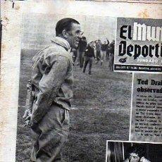 Coleccionismo deportivo: PERIDICO DEPORTIVO EL MUNDO DEPORTIVO 31-12-1969. Lote 20092025