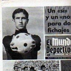 Coleccionismo deportivo: PERIDICO DEPORTIVO EL MUNDO DEPORTIVO 08-01-1970. Lote 20092029
