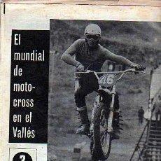 Coleccionismo deportivo: PERIDICO DEPORTIVO EL MUNDO DEPORTIVO 12-04-70 MUNDIAL MOTO-CROSS. Lote 20092267