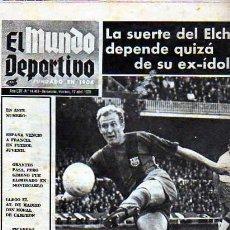 Coleccionismo deportivo: PERIDICO DEPORTIVO EL MUNDO DEPORTIVO 17-04-1970. Lote 20092278