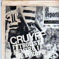 Coleccionismo deportivo: PERIDICO DEPORTIVO EL MUNDO DEPORTIVO 27-12-1973. Lote 20092309