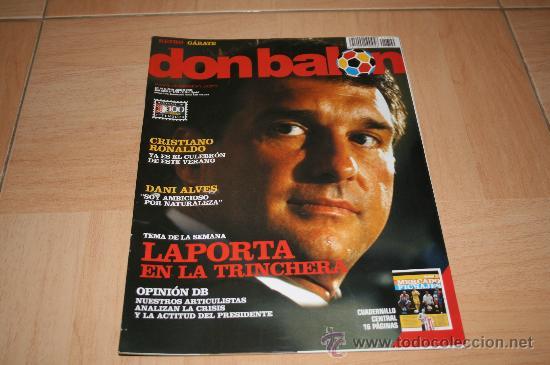 REVISTA DON BALÓN Nº1709 ESPECIAL MERCADO DE FICHAJES (Coleccionismo Deportivo - Revistas y Periódicos - Don Balón)