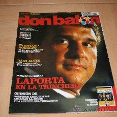 Coleccionismo deportivo: REVISTA DON BALÓN Nº1709 ESPECIAL MERCADO DE FICHAJES. Lote 20147764
