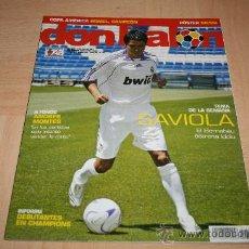 Coleccionismo deportivo: REVISTA DON BALÓN Nº1657 POSTER DE MESSI ARGENTINA 2007. Lote 20158194