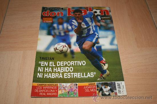 REVISTA DON BALÓN Nº1460 POSTER ALINEACIÓN DEL ALBACETE TEMPORADA 03-04 (Coleccionismo Deportivo - Revistas y Periódicos - Don Balón)