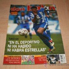 Coleccionismo deportivo: REVISTA DON BALÓN Nº1460 POSTER ALINEACIÓN DEL ALBACETE TEMPORADA 03-04. Lote 20165295