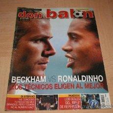 Coleccionismo deportivo: REVISTA DON BALÓN Nº1459 POSTER ALINEACIÓN DEL AT. MADRID TEMPORADA 03-04. Lote 20165319