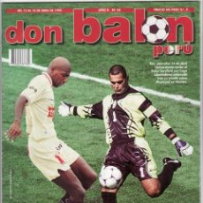 Coleccionismo deportivo: DON BALON PERU ABRIL 1999. Lote 24372950