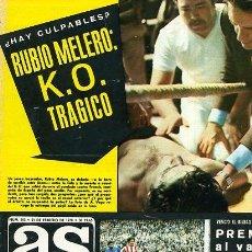 Coleccionismo deportivo: REVISTA DEPORTIVA AS COLOR Nº 353 AÑO 1978 GURUCETA: YO TAMBIEN ME EQUIVOCO. Lote 20317653