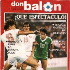 Coleccionismo deportivo: REVISTA DON BALON Nº 358 AGOSTO 1982. Lote 20348183