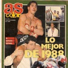 Coleccionismo deportivo: AS COLOR Nº 151 LO MEJOR DE 1988. Lote 20351637