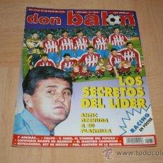Coleccionismo deportivo: REVISTA DON BALÓN Nº1074 POSTER RACING TEMPORADA 95-96. Lote 20385162