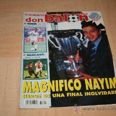 Coleccionismo deportivo: REVISTA DON BALÓN Nº1022 ZARAGOZA CAMPEÓN DE LA RECOPA 1995. Lote 20388583