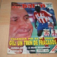 Coleccionismo deportivo: REVISTA DON BALÓN Nº1020 POSTER VALLADOLID TEMPORADA 94-95. Lote 20388662