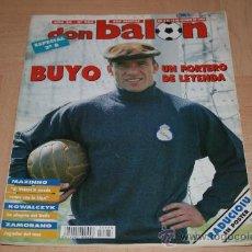 Coleccionismo deportivo: REVISTA DON BALÓN Nº988 POSTER DE RADUCIOIU DEL ESPAÑOL TEMPORADA 94-95. Lote 20390414