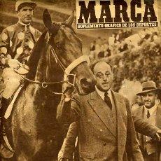 Coleccionismo deportivo: REVISTA MARCA , FUTBOL , Nº 754 , MAYO 1957. Lote 20471595