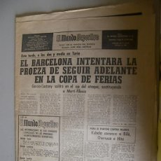 Coleccionismo deportivo: EL MUNDO DEPORTIVO AÑO 1958 PELAYO Nº28. Lote 20553466