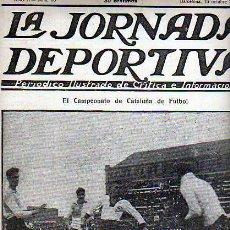 Coleccionismo deportivo: REVISTA DEPORTIVA LA JORNADA DEPORTIVA Nº 70 C.D. EUROPA-CENTRE ESPORTS SABADELL. Lote 20706326