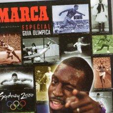Coleccionismo deportivo: REVISTA MARCA ESPECIAL GUIA OLIMPIADA SIDNEY 2000. Lote 25641044